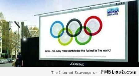 Olympic durex advert – Funny Hump day pictures at PMSLweb.com