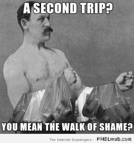 Second trip funny meme at PMSLweb.com