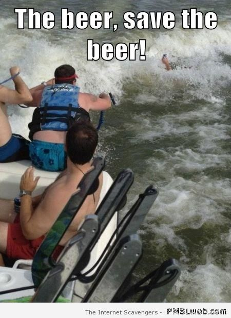 Save the beer meme – Thursday funny pictures at PMSLweb.com