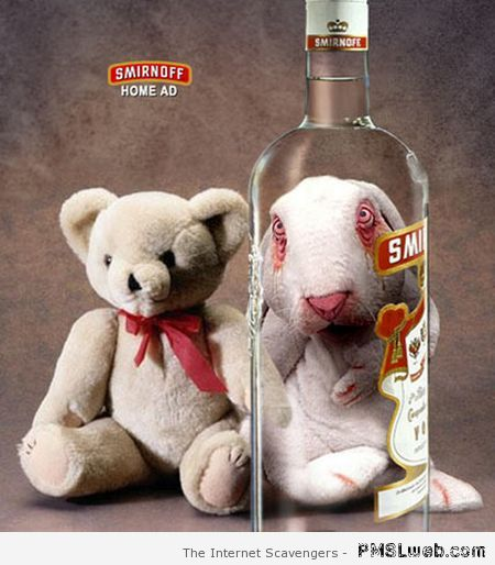 Vodka Smirnoff humor at PMSLweb.com