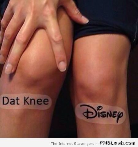 Dat knee Disney – Silly Hump day at PMSLweb.com