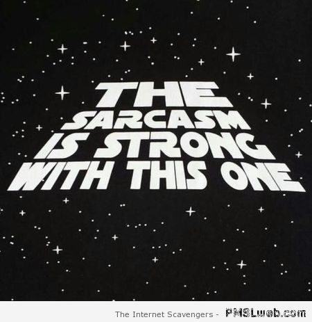 The sarcasm is strong with this one – Sarcastic quotes at PMSLweb.com