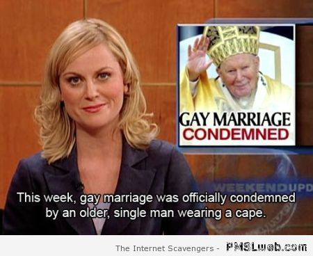 Pope humor – Silly Hump day at PMSLweb.com