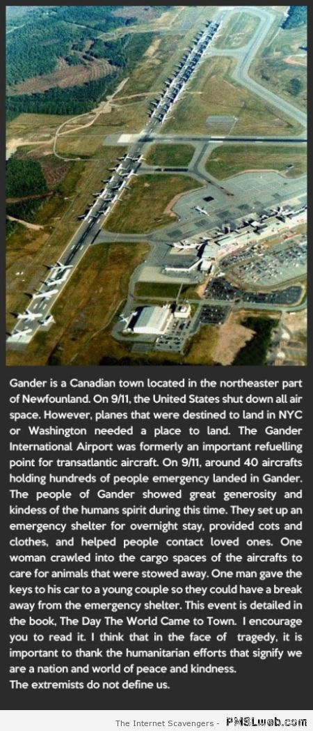 Gander international airport fact – Miscellaneous pics at PMSLweb.com