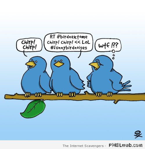 Funny Twitter Cartoon at PMSLweb.com