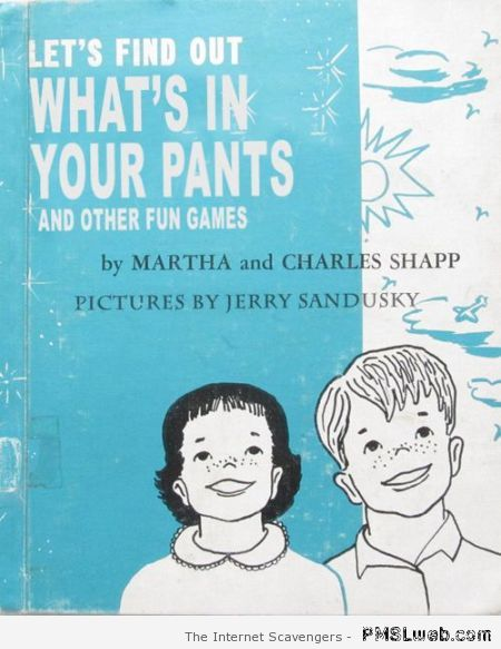 What's in your pants – Happy Monday funnies at PMSLweb.com