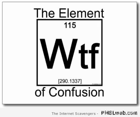 The WTF element at PMSLweb.com