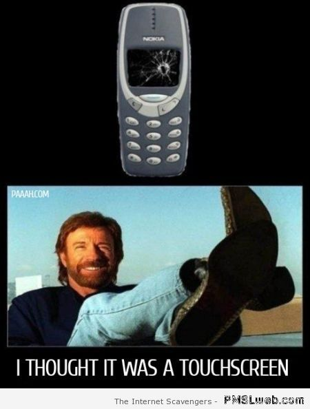 Chuck Norris Nokia humor – Tuesday laughs at PMSLweb.com