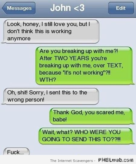 Boyfriend fail – iPhone humor at PMSLweb.com