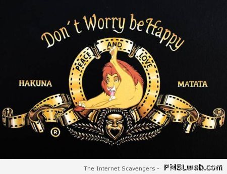 Don't worry be happy – Happy Monday funnies at PMSLweb.com