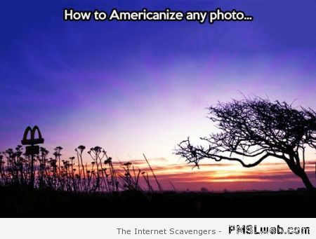 How to Americanize any photo at PMSLweb.com