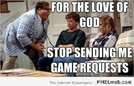 Game requests meme at PMSLweb.com