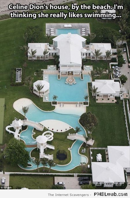 Celine Dion's house at PMSLweb.com