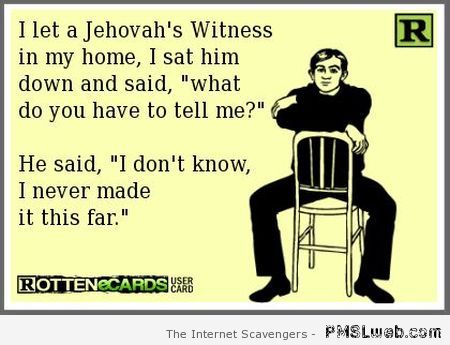 Image result for funny jehovah witness pictures