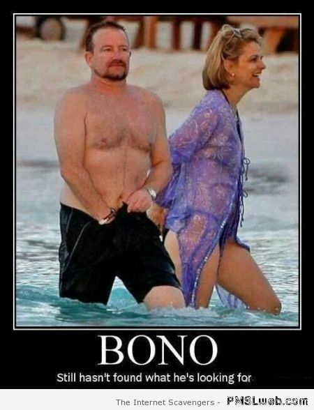 Bono still has not found what he's looking for at PMSLweb.com