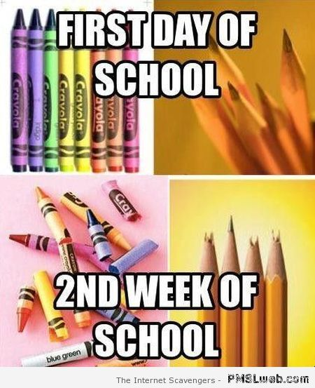 First Day of School Meme