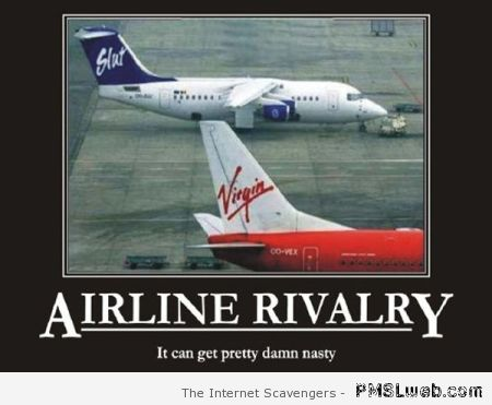 Airline rivalry – Demotivational pictures at PMSLweb.com