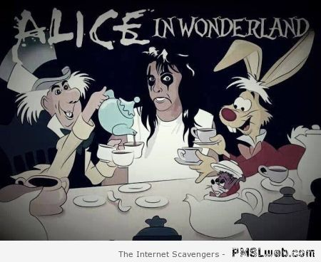 Alice in wonderland humor at PMSLweb.com