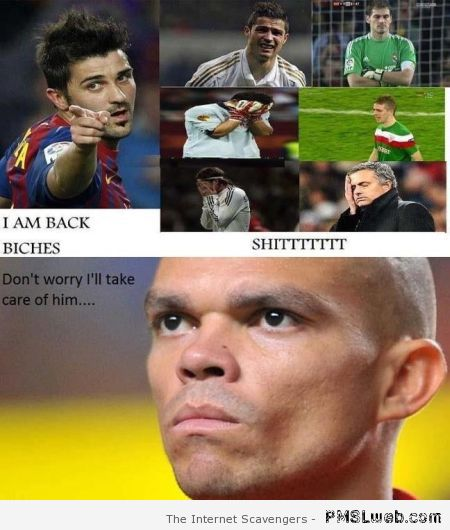 David Villa vs Pepe meme – FIFA World cup humor at PMSLweb.com