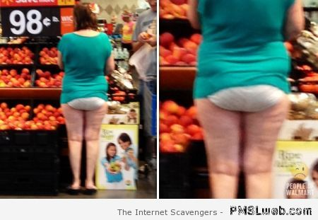 No pants in Walmart at PMSLweb.com