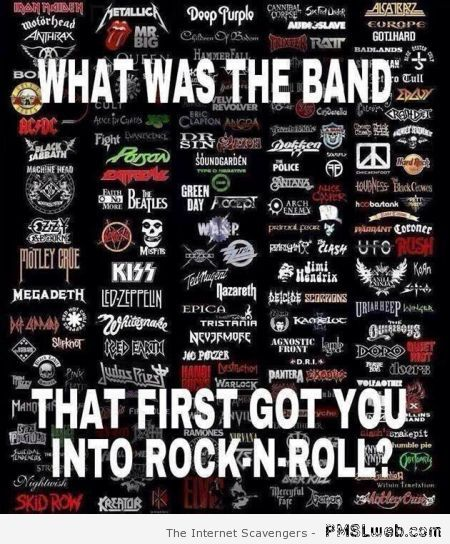 How you discovered Rock n' roll at PMSLweb.com