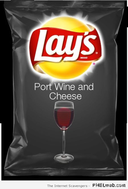 Lay's port wine and cheese at PMSLweb.com