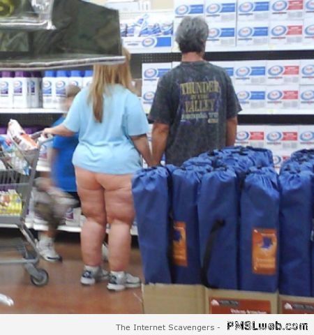Cute couple in walmart at PMSLweb.com