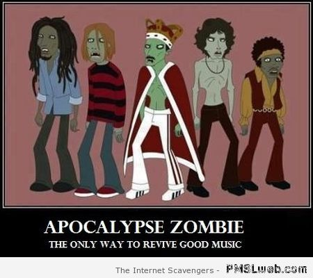 Apocalypse zombie and good music at PMSLweb.com