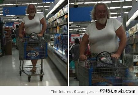 Weird walmart shopper at PMSLweb.com