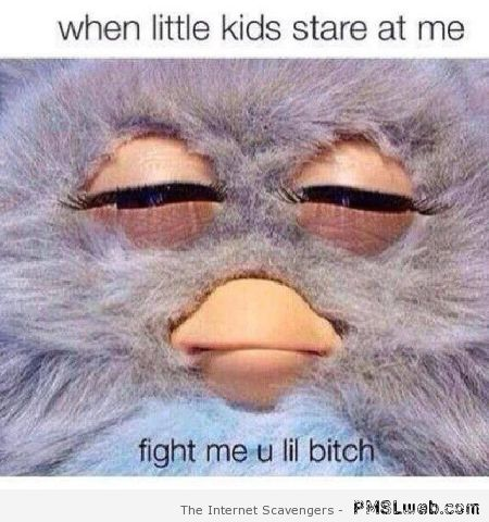 When little kids stare at me at PMSLweb.com