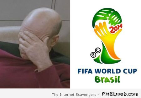 FIFA world cup facepalm – FIFA World cup humor at PMSLweb.com