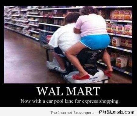 Walmart car pool at PMSLweb.com