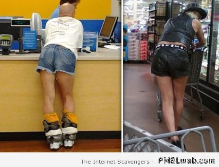 Funny walmart customers at PMSLweb.com