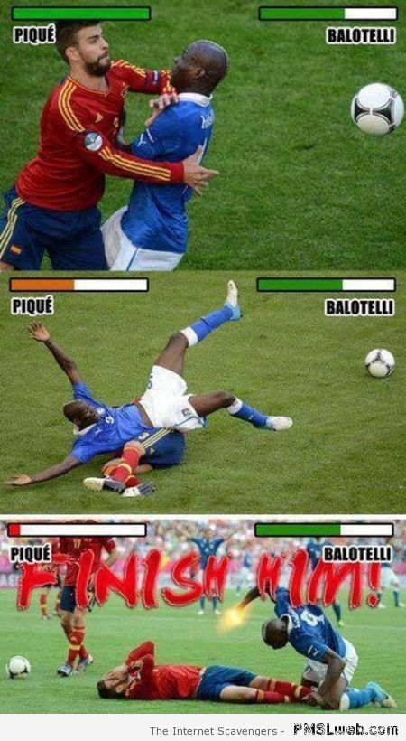 Balotelli and Piqué meme at PMSLweb.com
