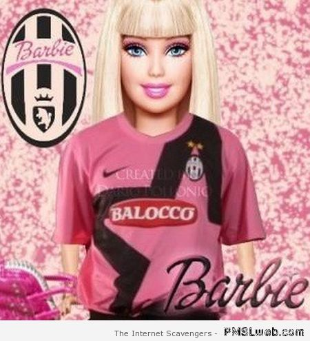 Juventus Barbie at PMSLweb.com