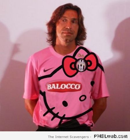Juventus Pirlo hello kitty at PMSLweb.com