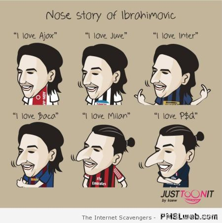 Nose story of Abrahimovic