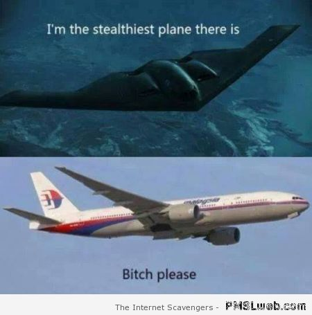 Stealthiest plane meme – Screwball Monday at PMSLweb.com