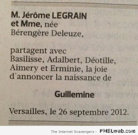 Humour vieille France at PMSLweb.com