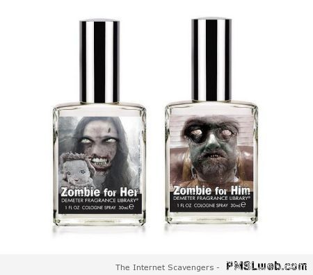 Zombie for him & zombie for her fragrances at PMSLweb.com