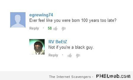 Funny black guy comment  - Hump day madness at PMSLweb.com