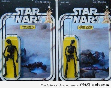 Star wars action figures funny at PMSLweb.com