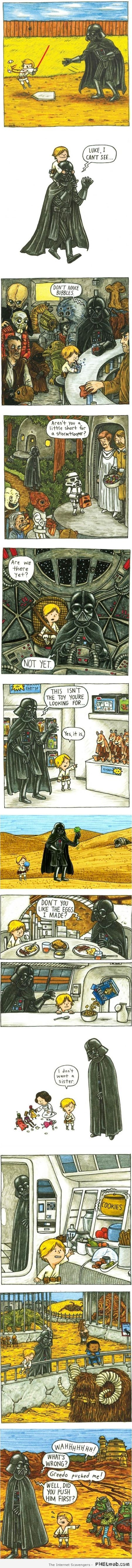 Funny darth vader parenting at PMSLweb.com