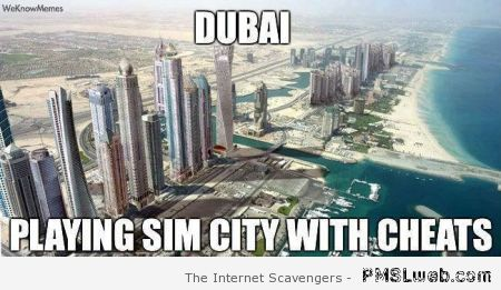Dubai GTA meme at PMSLweb.com