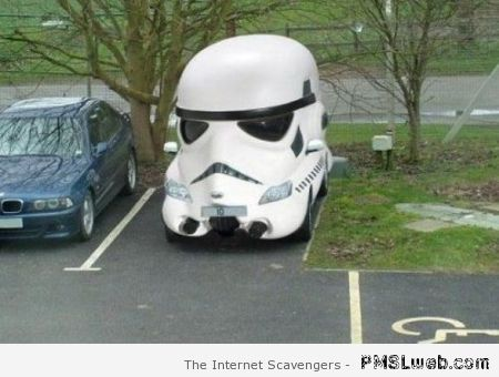 Stormtrooper car at PMSLweb.com