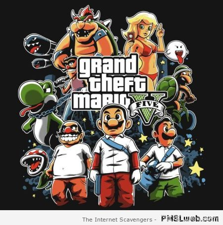 Grand theft Mario – Monday playtime at PMSLweb.com