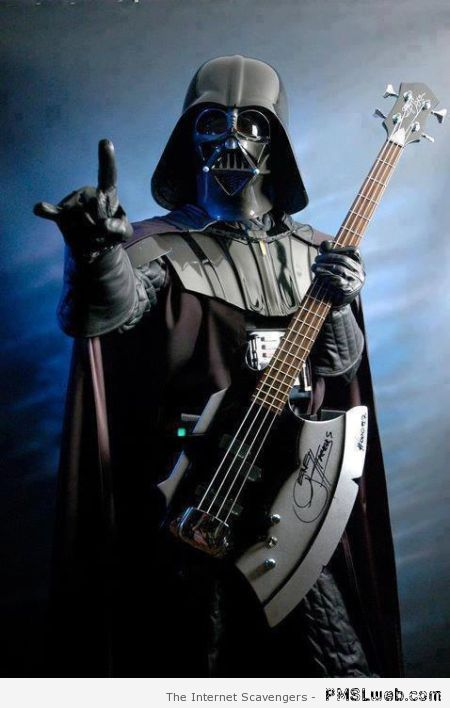 Death metal Darth vader at PMSLweb.com
