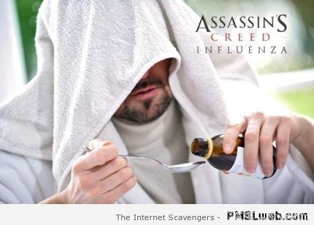Assassin's creed influenza parody at PMSLweb.com