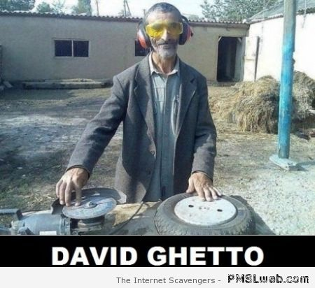 Funny David Ghetto at PMSLweb.com