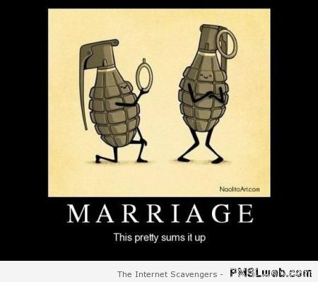 Marriage summed up – Funny relationship pictures at PMSLweb.com